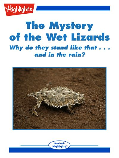 The mystery of the wet lizards [有聲書]