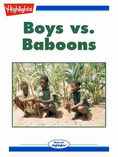 Boys vs. baboons [有聲書]