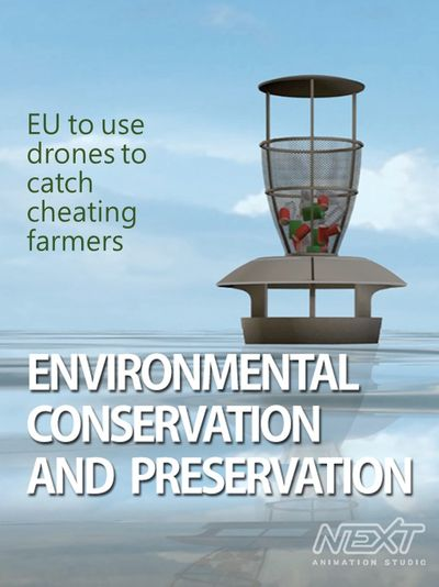 EU to use drones to catch cheating farmers