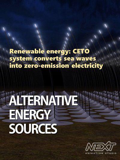 Renewable energy:CETO system converts sea waves into zero-emission electricity