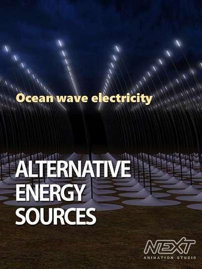 Ocean wave electricity