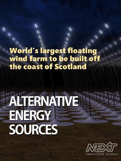 World's largest floating wind farm to be built off the coast of Scotland