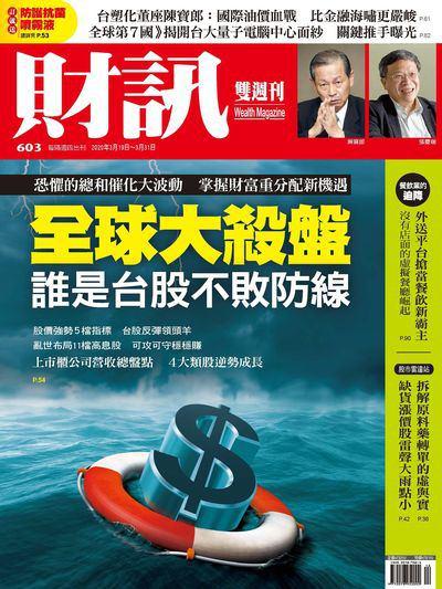 財訊雙週刊 [第603期]:全球大殺盤 誰是台股不敗防線