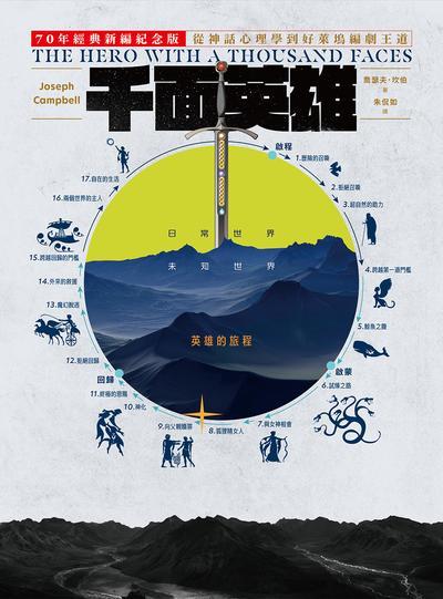 千面英雄:70年經典新編紀念版 從神話心理學到好萊塢編劇王道