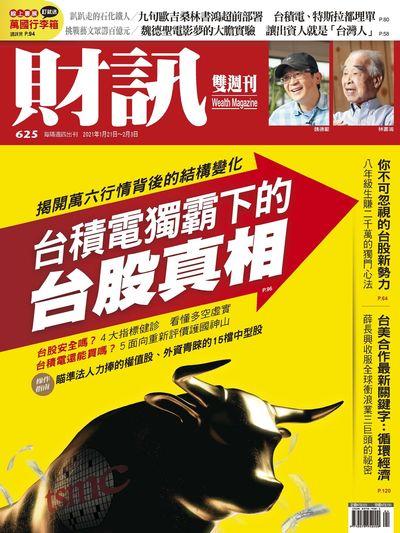 財訊雙週刊 [第625期]:台積電獨霸下的台股真相