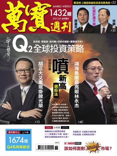 萬寶週刊 2021/04/09 [第1432期]:噴新高選股法