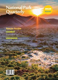 National Park Quarterly 2016.09 (Autumn):Remain Flexible